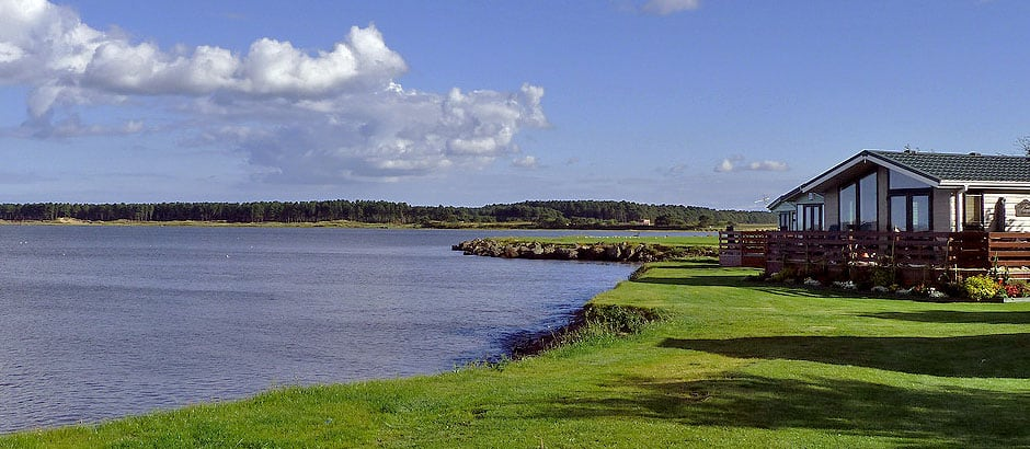 Tayport Links Caravan Park, Located between St Andrews and Dundee, Angus, in Northeast Fife, Scotland