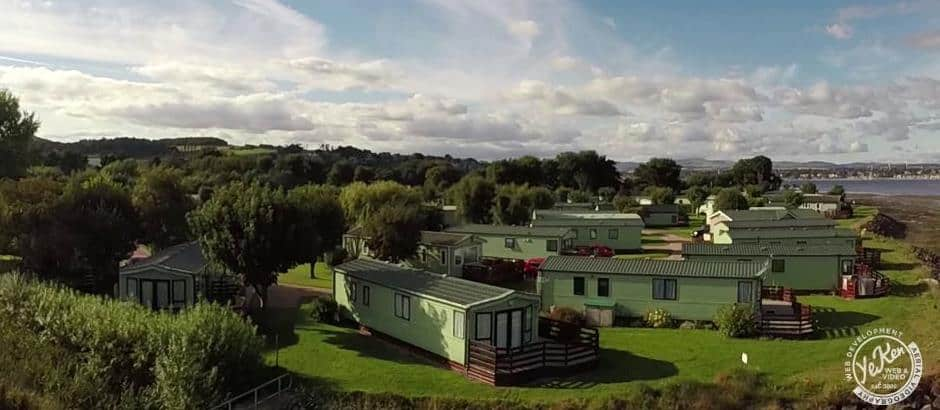 Tayport Links Caravan Park, Located between St Andrews and Dundee, Angus, in Northeast Fife, Scotland